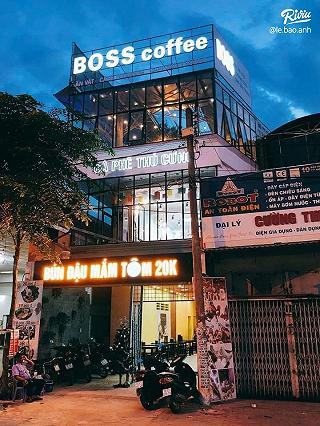 boss coffee _cafe thu cung