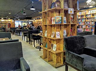 khong gian van hoa dong tay - book store