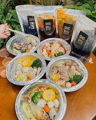 shoryu noodle & hotpot - shop online: