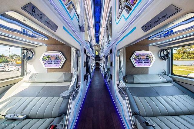 moi khai truong xe limousine giuong doi danh rieng cho couple vi vu da lat: sang-xin-min nhu khach san 5 sao  - anh 10