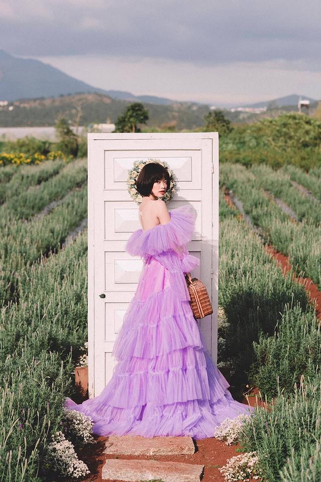 xuất hieôn cánh dồng hoa lavender tím ngắt lớn nhất dà laot, sống ảo bao xuất sắc - anh 3