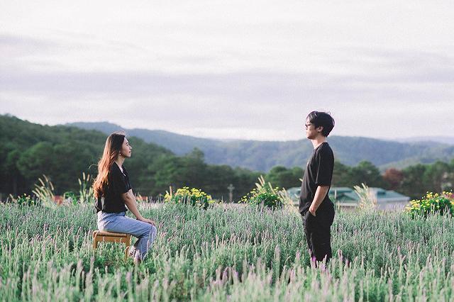 xuất hieôn cánh dồng hoa lavender tím ngắt lớn nhất dà laot, sống ảo bao xuất sắc - anh 14