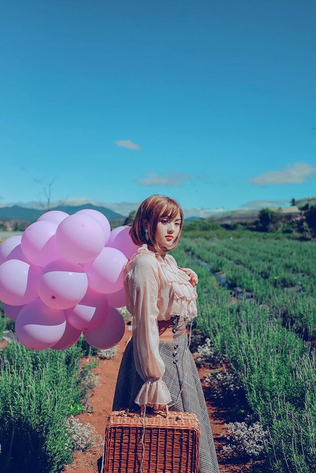 xuất hieôn cánh dồng hoa lavender tím ngắt lớn nhất dà laot, sống ảo bao xuất sắc - anh 19