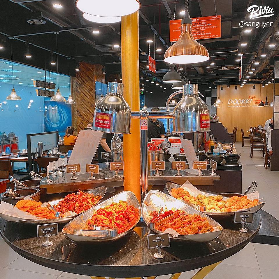 an lau buffet tokbokki han quoc chi 139k - anh 8