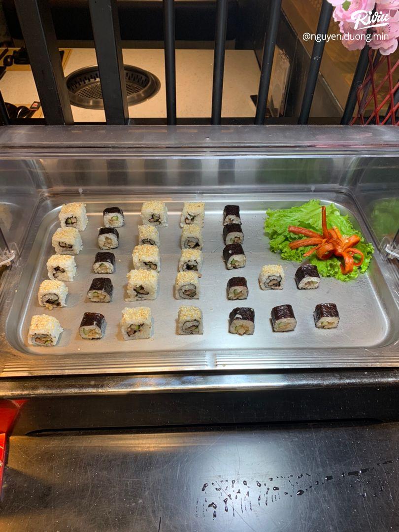 buffet nướng siêu hấp dẫn cùng với vô số các loaoi thiot - anh 8
