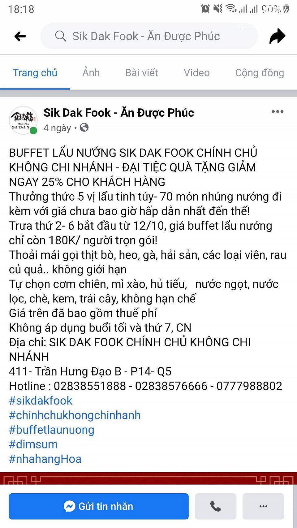 10* cho buffet lau nuong 180k sik dak food - anh 16