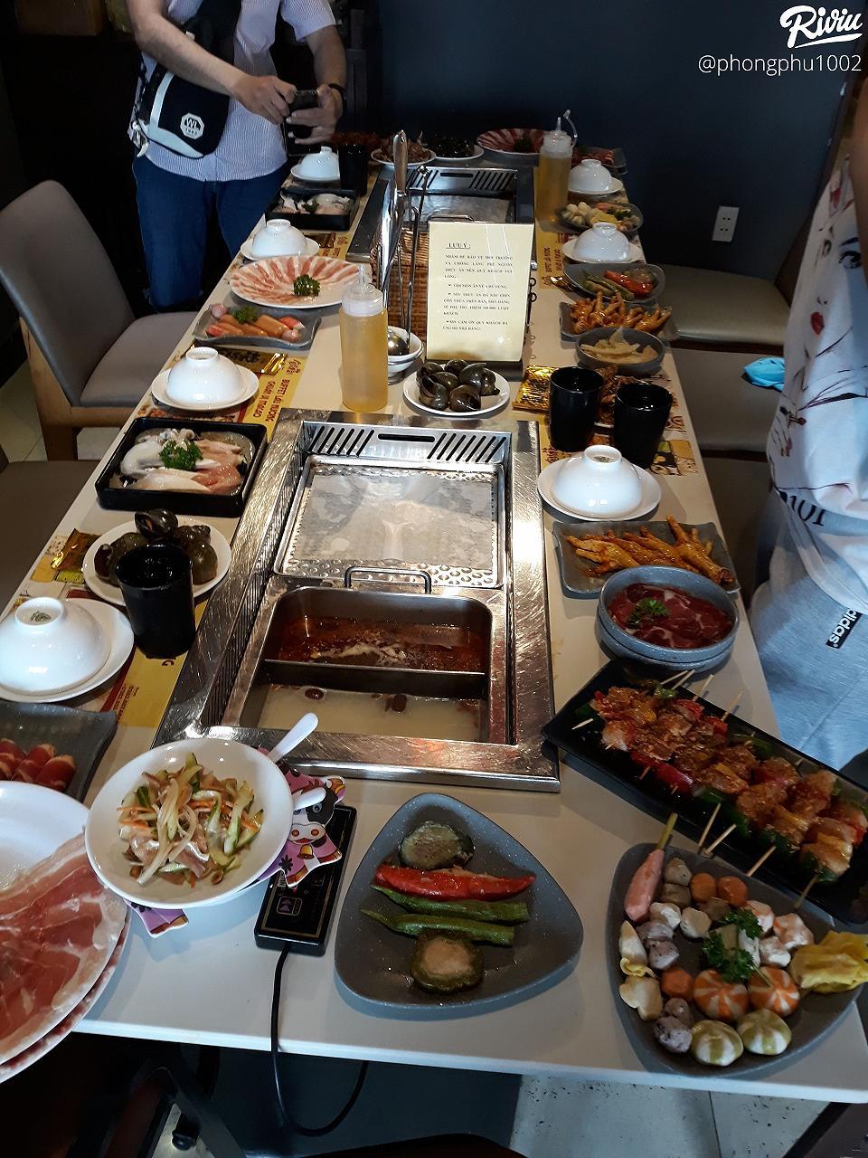 10* cho buffet lau nuong 180k sik dak food - anh 2