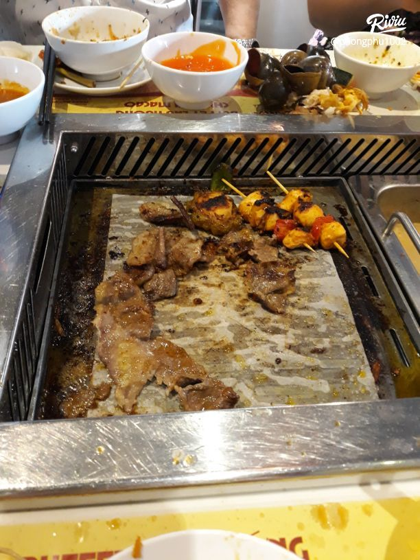 10* cho buffet lau nuong 180k sik dak food - anh 10