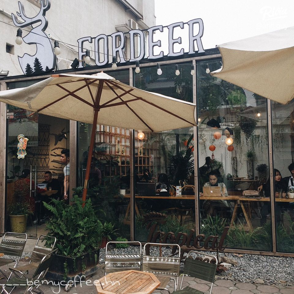[ fordeer coffee & tropical forest - so 89 ngo 298 tay son ] - anh 1