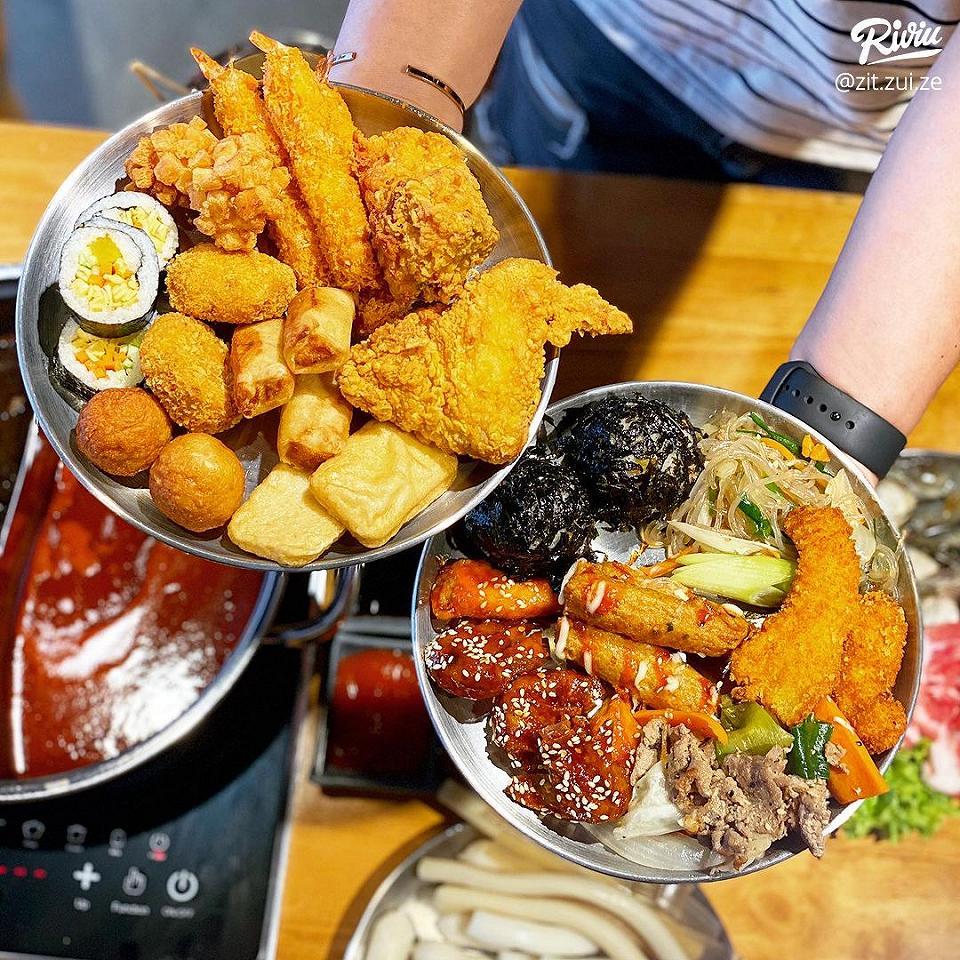 buffet tokpokki di 4 tang 1 chi 87k/ nguoi - anh 3