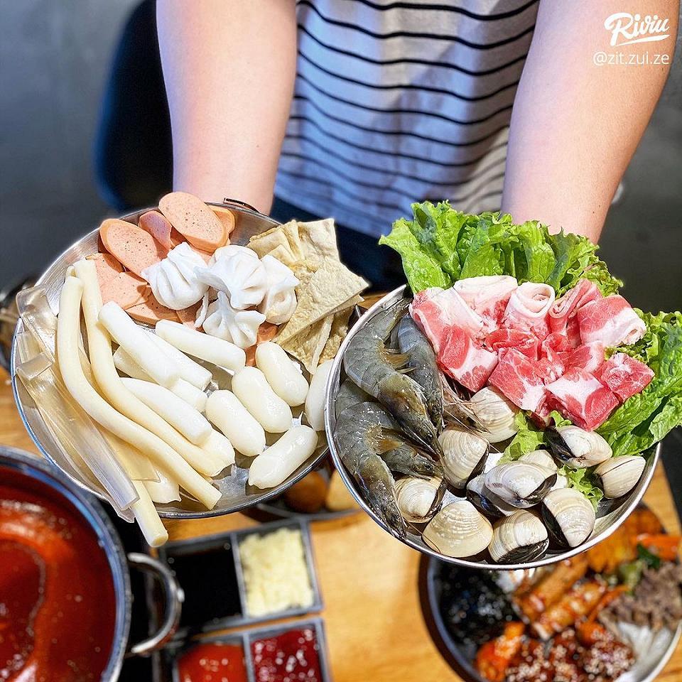 buffet tokpokki di 4 tang 1 chi 87k/ nguoi - anh 2