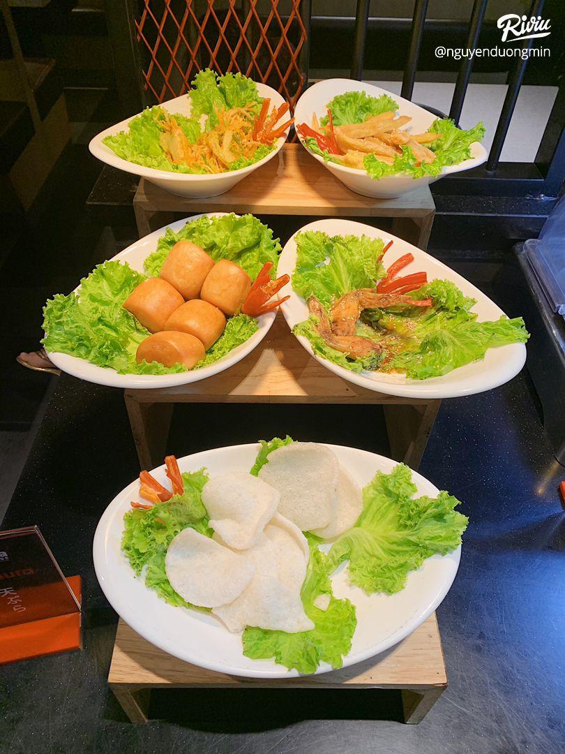 buffet nướng siêu hấp dẫn cùng với vô số các loaoi thiot - anh 5