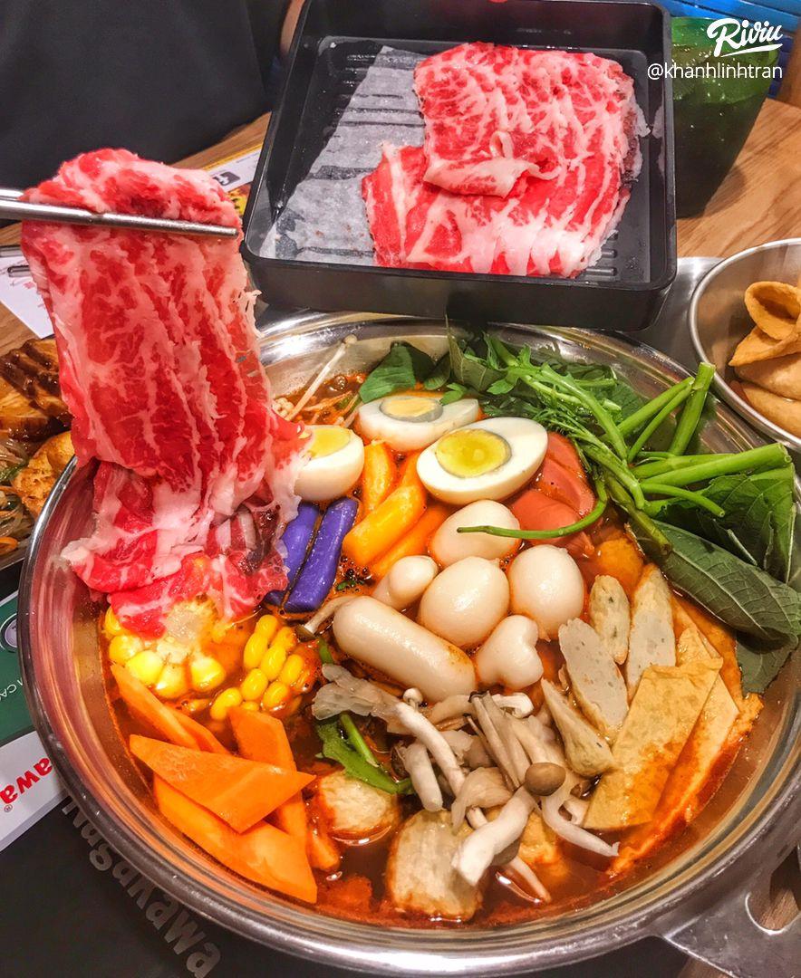 """nhao dzo an """"buffet lau tokbokki"""" no be bung chi 119k ha!!! - anh 2"""
