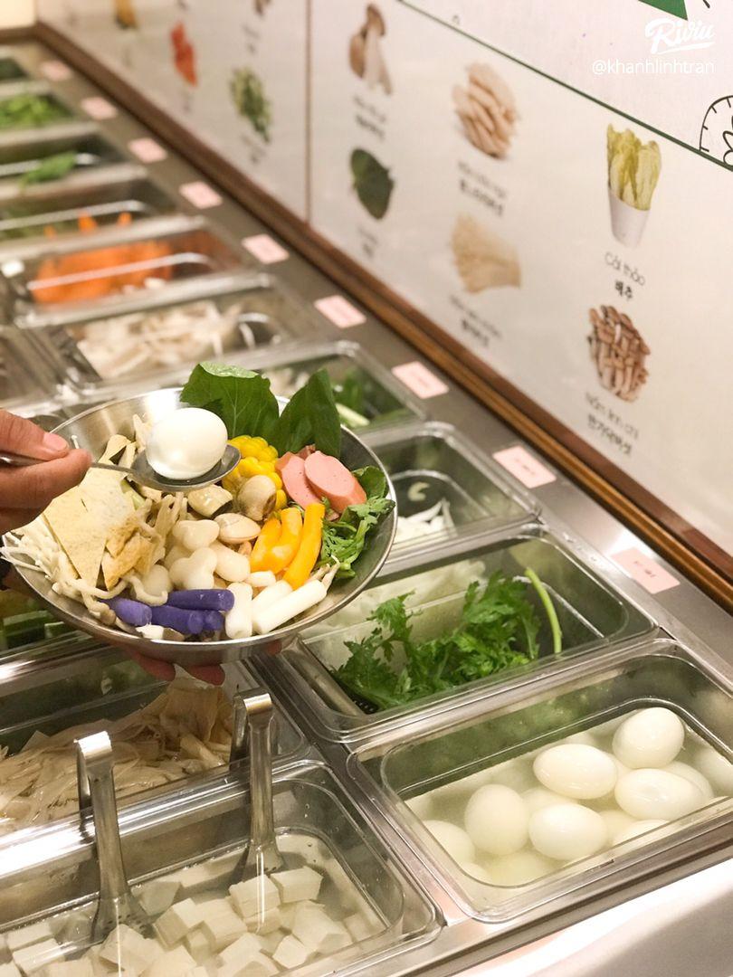 """nhao dzo an """"buffet lau tokbokki"""" no be bung chi 119k ha!!! - anh 9"""