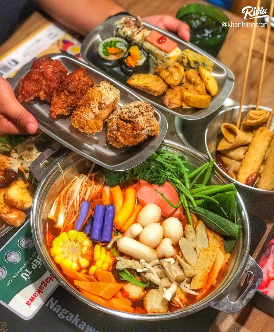 """nhao dzo an """"buffet lau tokbokki"""" no be bung chi 119k ha!!! - anh 4"""