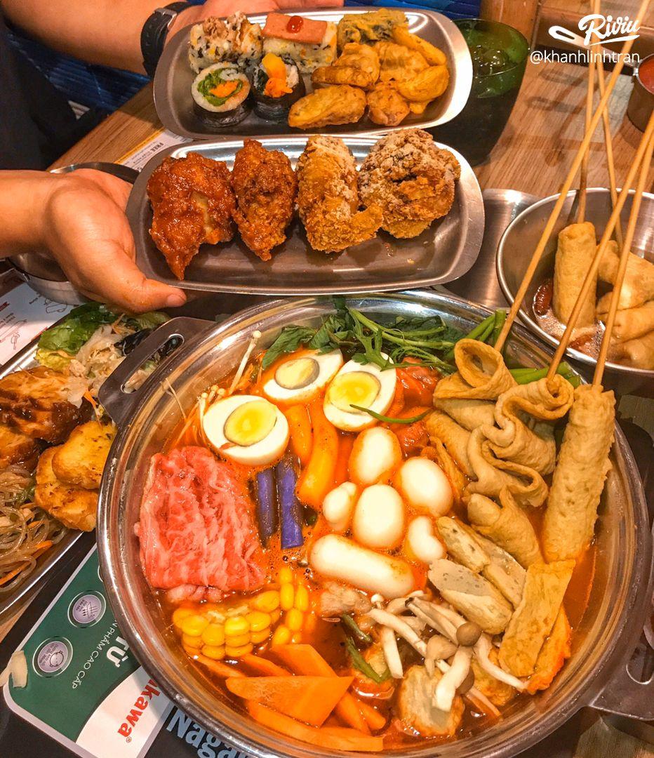 """nhao dzo an """"buffet lau tokbokki"""" no be bung chi 119k ha!!! - anh 1"""