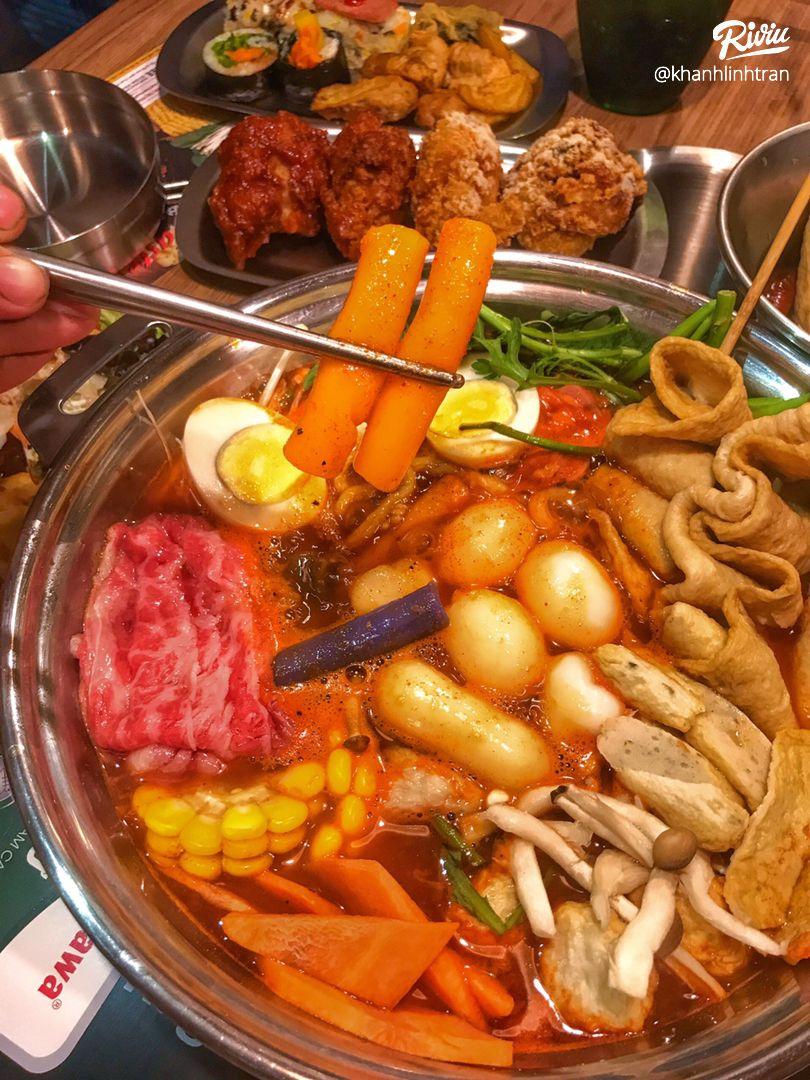 """nhao dzo an """"buffet lau tokbokki"""" no be bung chi 119k ha!!! - anh 3"""
