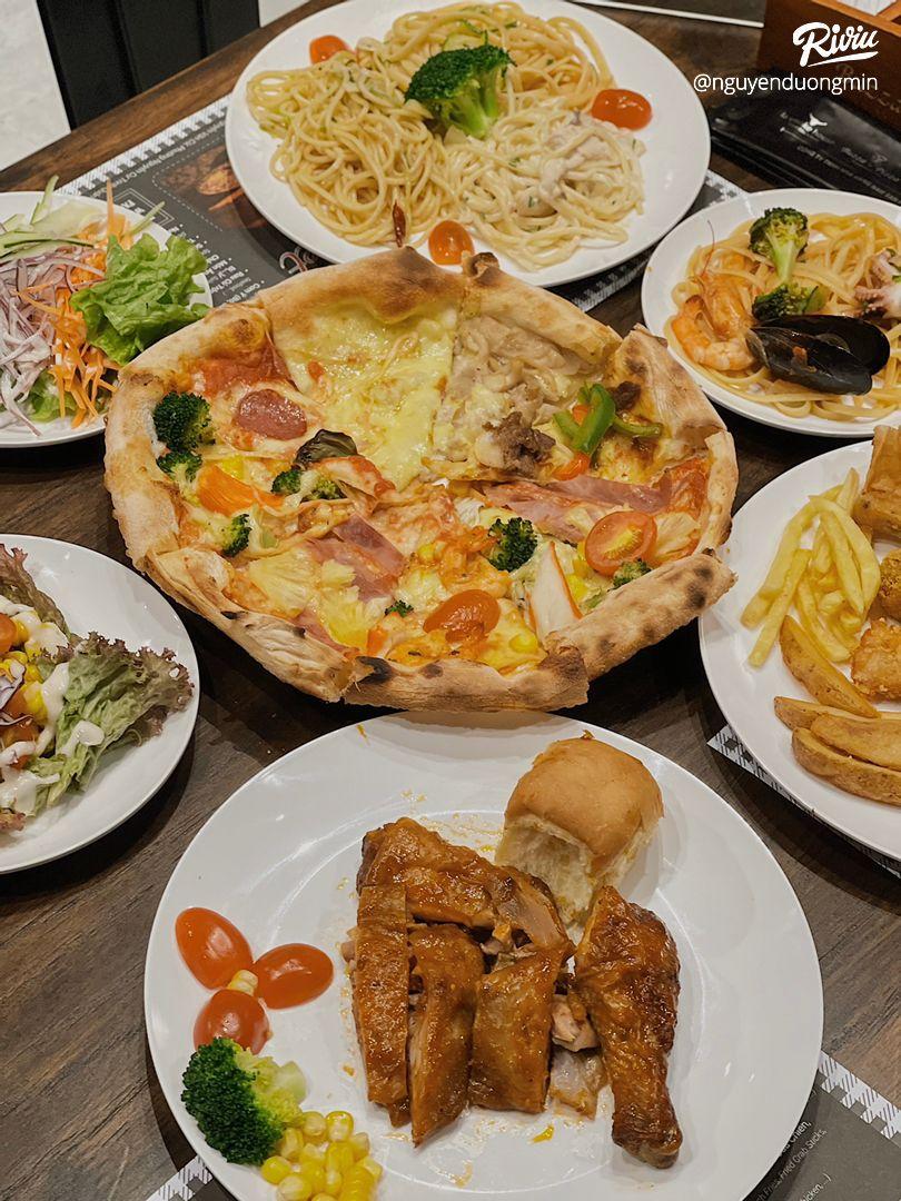 ăn buffet pizza thả ga chỉ từ 2.500 moôt phút taoi nowzone - anh 2