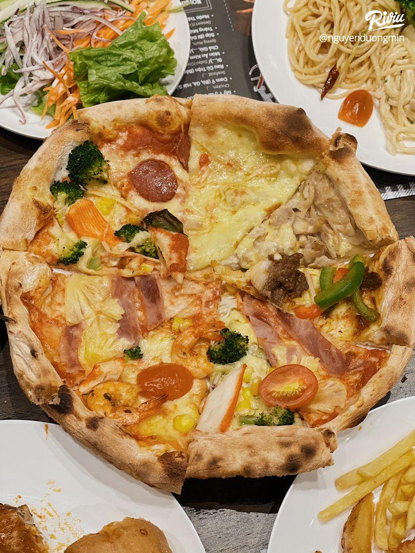 ăn buffet pizza thả ga chỉ từ 2.500 moôt phút taoi nowzone - anh 3