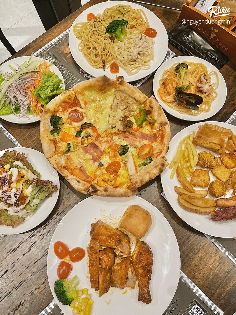ăn buffet pizza thả ga chỉ từ 2.500 moôt phút taoi nowzone - anh 1