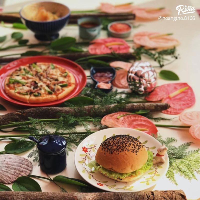 cua hang thuc an nhanh burger tien loi - anh 2