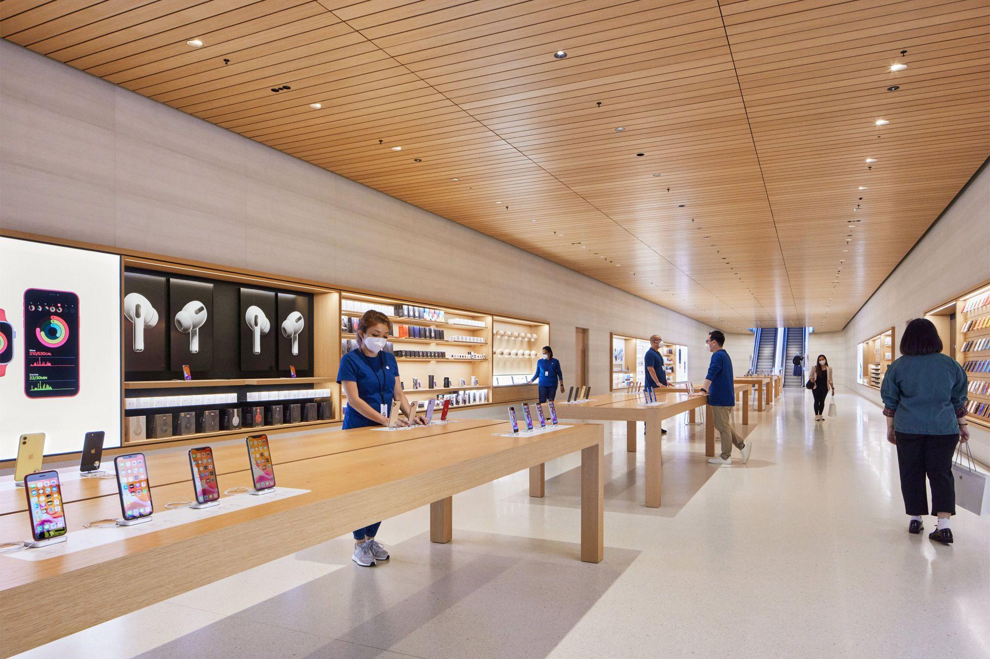 sau bao ngay cho doi, apple store ''noi tren mat nuoc'' chinh thuc khai truong khien fans dung ngoi khong yen - anh 6