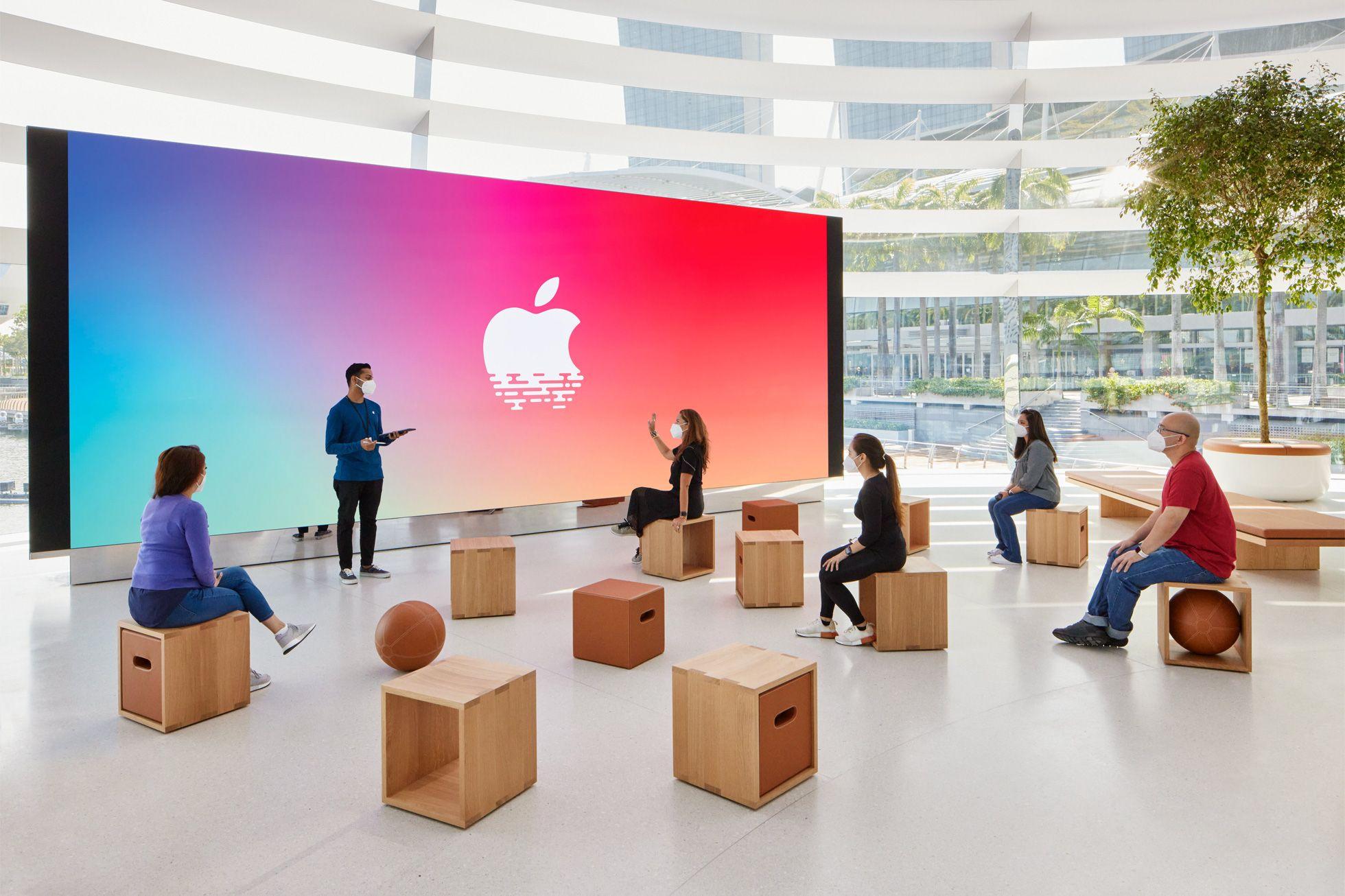 sau bao ngay cho doi, apple store ''noi tren mat nuoc'' chinh thuc khai truong khien fans dung ngoi khong yen - anh 13