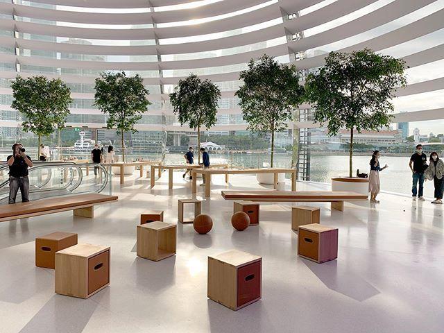 sau bao ngay cho doi, apple store ''noi tren mat nuoc'' chinh thuc khai truong khien fans dung ngoi khong yen - anh 12