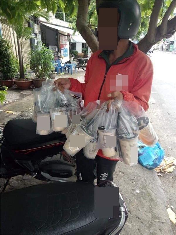thuong lam phan shipper bi boom hang: co ngay uong 5 ly tra sua, an 2 noi lau, co gang de khong that nghiep - anh 3