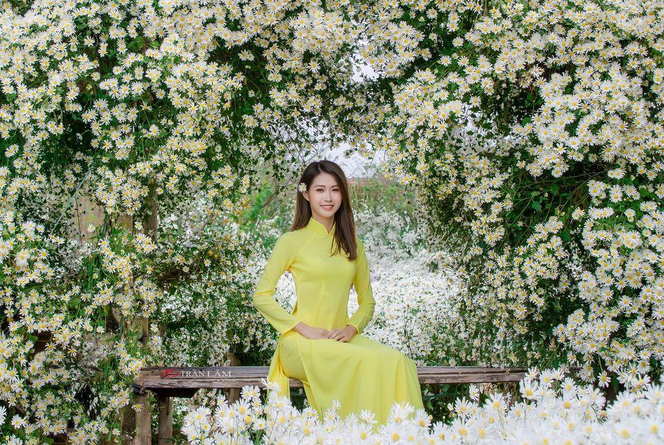 """dep toi """"hon xieu phach lac"""" vuon cuc hoa mi trangtinh khoi it nguoi biet o ha noi - anh 23"""