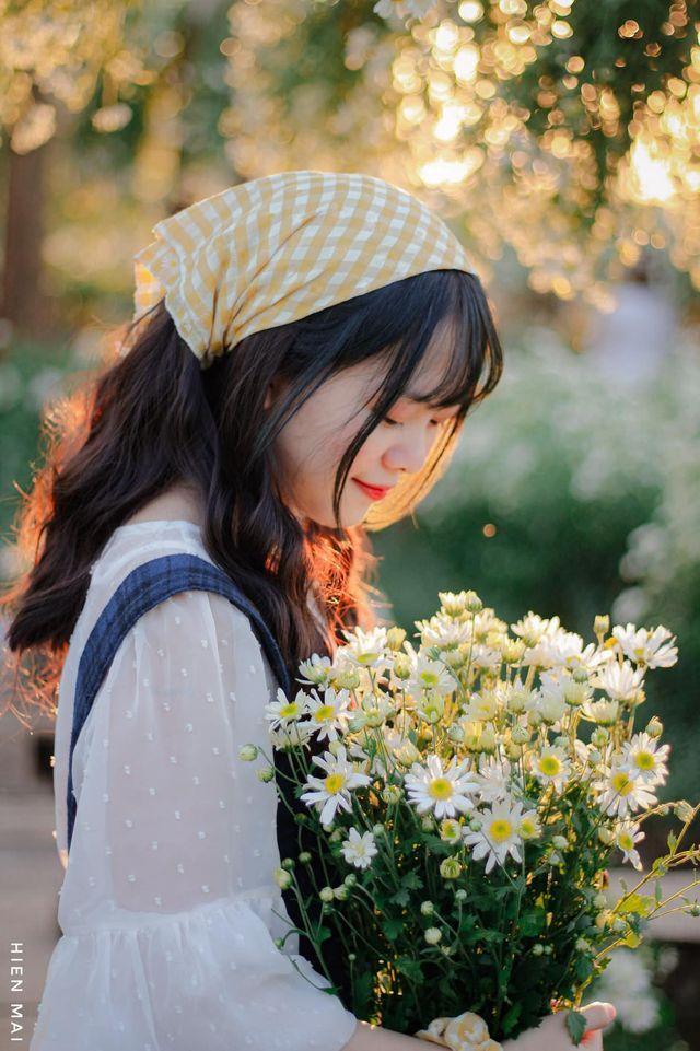 """dep toi """"hon xieu phach lac"""" vuon cuc hoa mi trangtinh khoi it nguoi biet o ha noi - anh 24"""