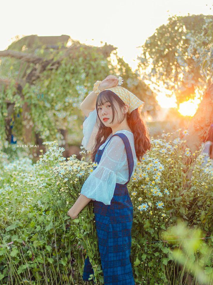 """dep toi """"hon xieu phach lac"""" vuon cuc hoa mi trangtinh khoi it nguoi biet o ha noi - anh 14"""
