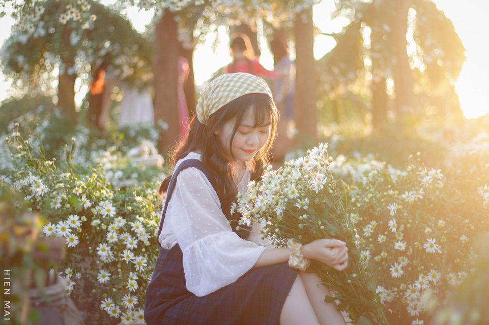"""dep toi """"hon xieu phach lac"""" vuon cuc hoa mi trangtinh khoi it nguoi biet o ha noi - anh 27"""