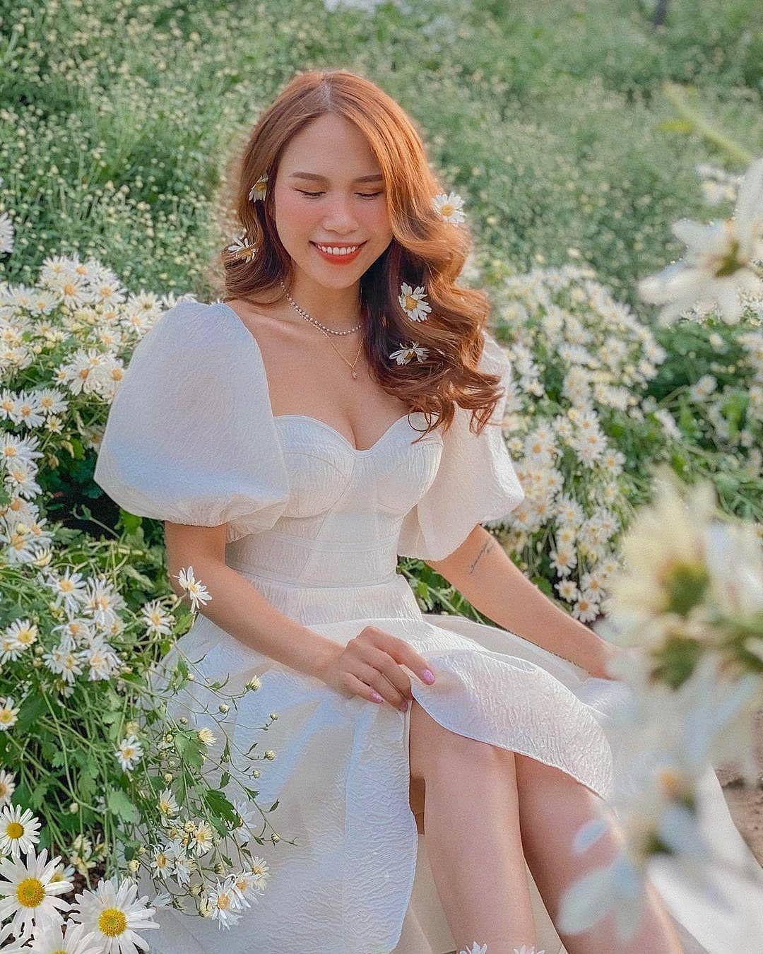 """dep toi """"hon xieu phach lac"""" vuon cuc hoa mi trangtinh khoi it nguoi biet o ha noi - anh 25"""