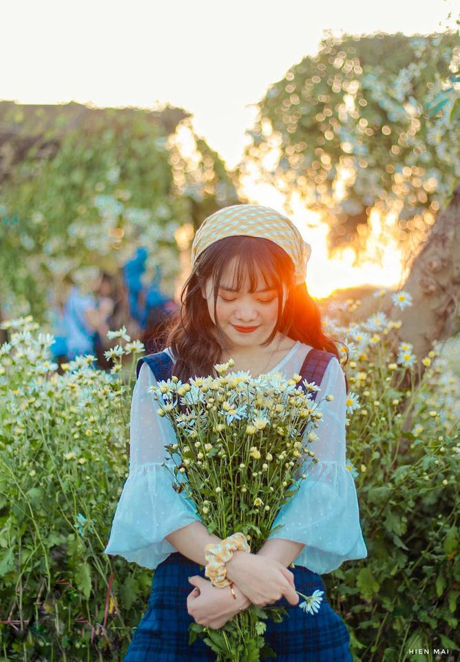 """dep toi """"hon xieu phach lac"""" vuon cuc hoa mi trangtinh khoi it nguoi biet o ha noi - anh 7"""