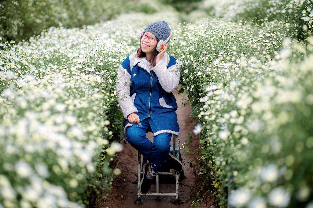 """dep toi """"hon xieu phach lac"""" vuon cuc hoa mi trangtinh khoi it nguoi biet o ha noi - anh 32"""