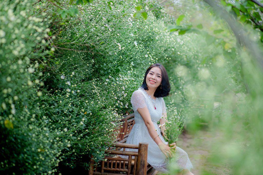 """dep toi """"hon xieu phach lac"""" vuon cuc hoa mi trangtinh khoi it nguoi biet o ha noi - anh 28"""