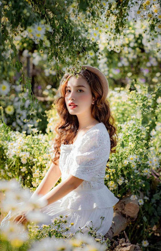 """dep toi """"hon xieu phach lac"""" vuon cuc hoa mi trangtinh khoi it nguoi biet o ha noi - anh 18"""