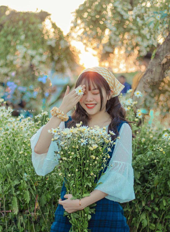 """dep toi """"hon xieu phach lac"""" vuon cuc hoa mi trangtinh khoi it nguoi biet o ha noi - anh 3"""