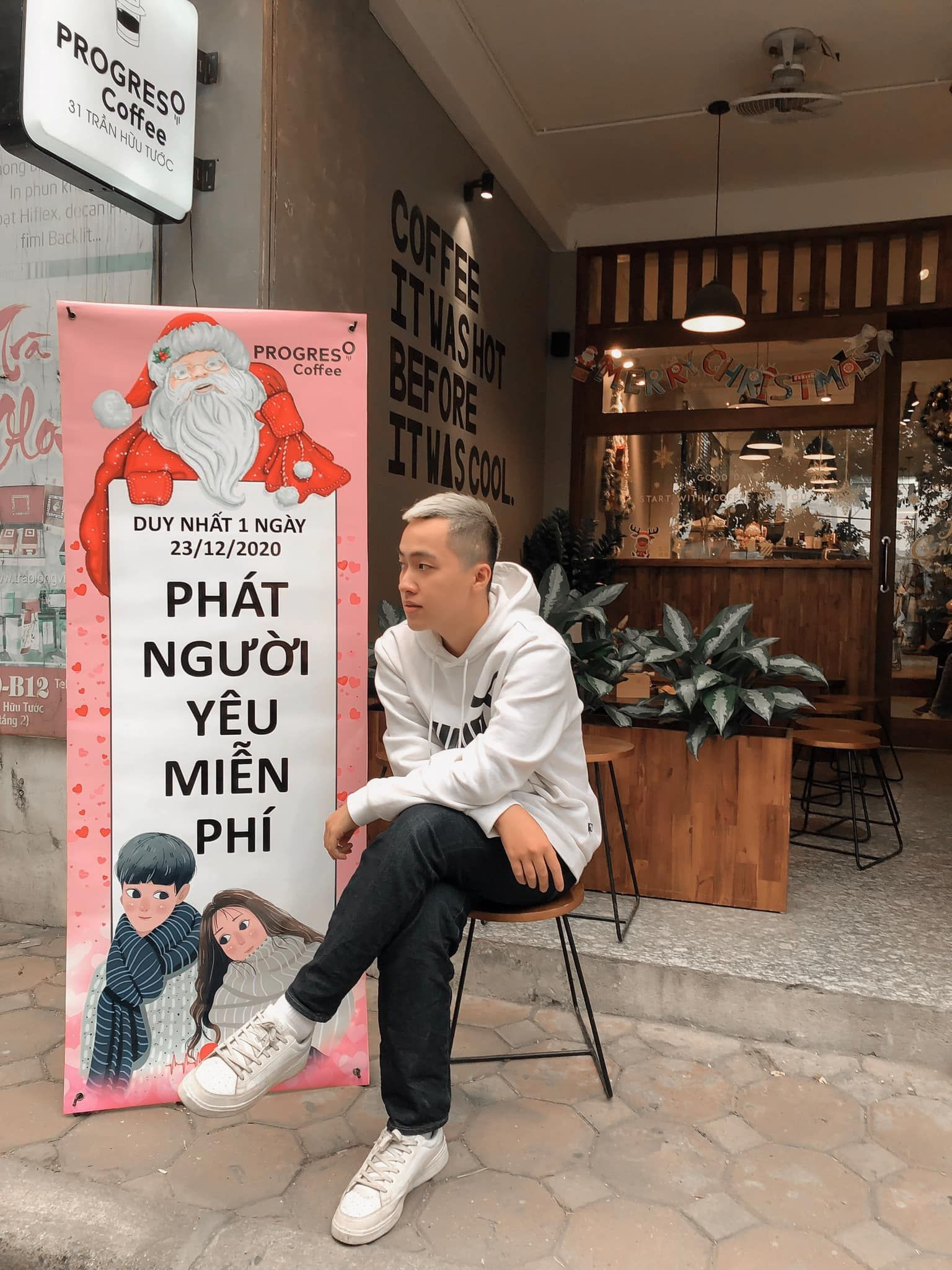 ghim vao tim tao do quancafephat nguoi yeumien phi trung ngay dip noel - anh 1